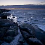 Isblock på drift