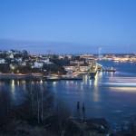 Slotssberget by night