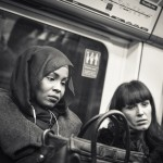 Ladies at Picadilly line