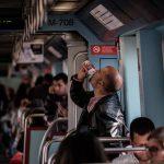 På metron