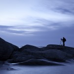 Naturfotografen och hans följeslagare