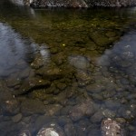 Stilla flöde utanför Fantomengrottan