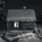 Stuga i Jukkasjärvi