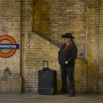 Red dredlocks at Paddington station