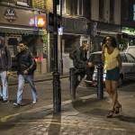 Flicka på gatan!