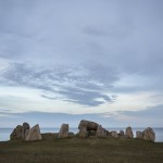 Sten mot horisont